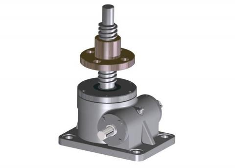 Rotating screw jacks SJCat-20